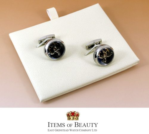 Steel Tourbillon cufflinks for the man that has everything
