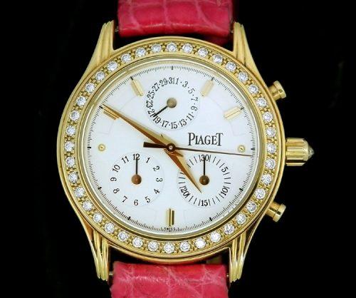 Factory diamond 18ct yellow gold ladies Piaget