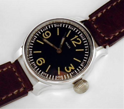 48mm WW2 period XL Rolex Marriage watch
