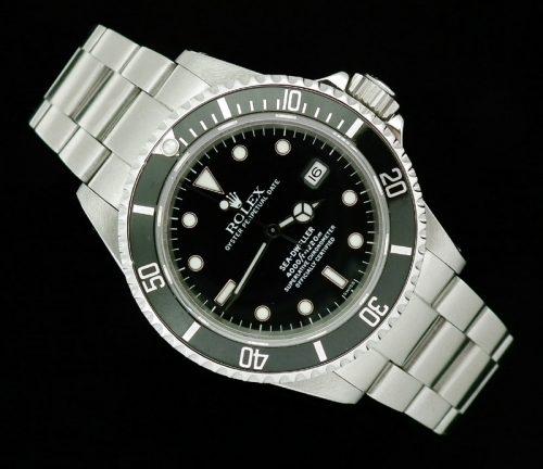 Superb stainless steel Rolex Sea-Dweller ref 16600