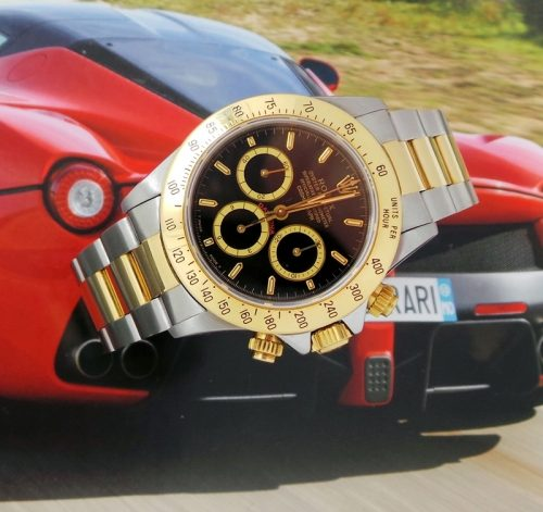 Steel & gold Rolex Cosmograph Daytona investment watch