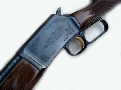 Pre-owned .22 under leaver Miroku rifle with moderator