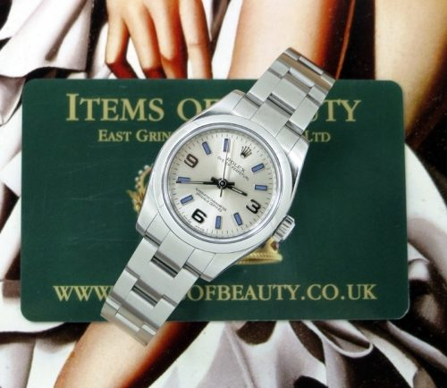 Like new ladies stainless steel Rolex Oyster Perpetual