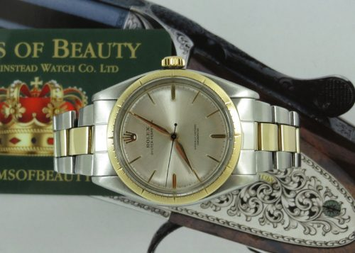 Bargain steel & gold gents Rolex Oyster Perpetual