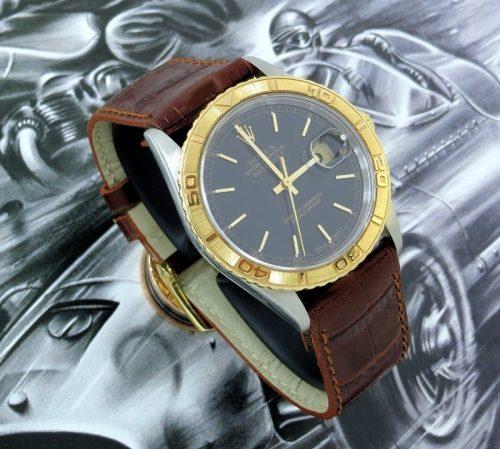 Steel & Gold Rolex Datejust Turn-O-Graph ref 16263