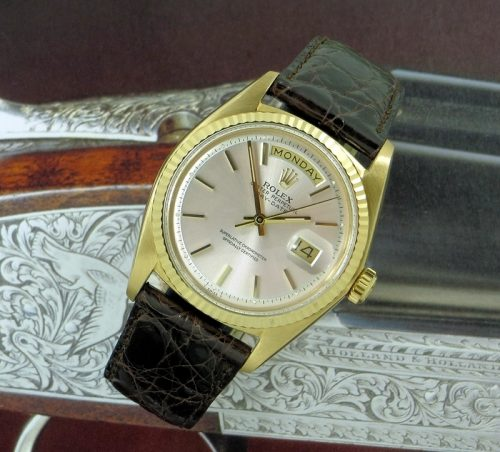 Mint 18ct Gold Rolex Day-Date ref 1803 with special dial