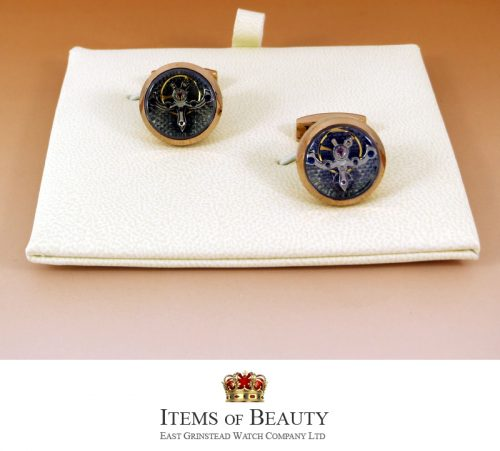 Pink Gold TOURBILLON CUFFLINKS FOR THE MAN WITH EVERYTHING