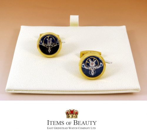 Yellow Gold TOURBILLON CUFFLINKS FOR THE MAN WITH EVERYTHING