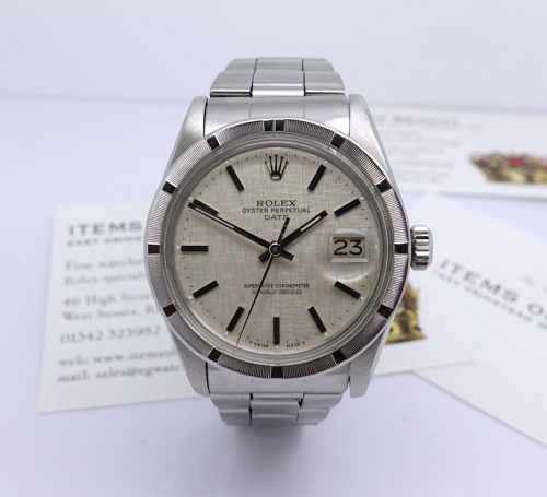 Stainless Steel Oyster Perpetual Date