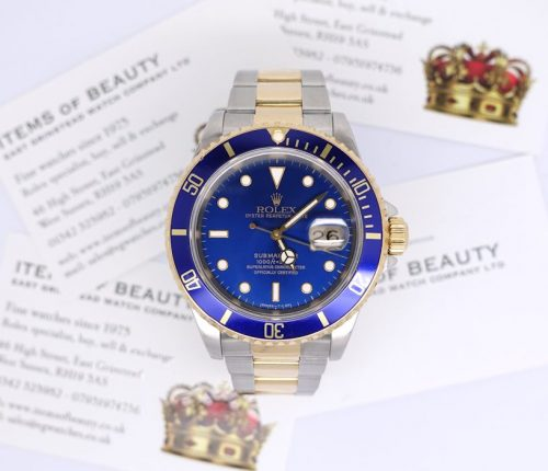 Bi-Metal Rolex Submariner Blue-Kit