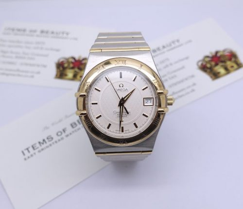 Gents Steel and Gold Omega Constellation