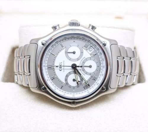 Ebel 1911 Stainless Steel Chronograph
