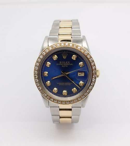 Gents steel and gold Rolex Oyster Perpetual Date