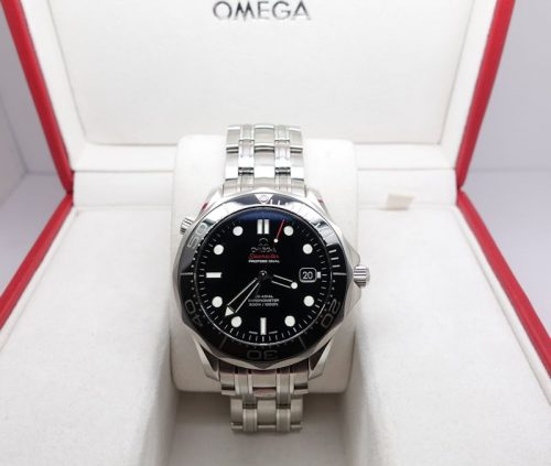 Gents stainless steel Omega Seamaster 2012