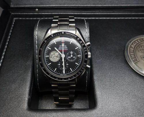 Gents stainless steel Omega Speedmaster Moonwatch
