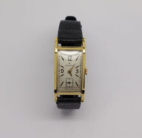 LADIES GOLD PLATED ROLEX PRINCESS CIRCA 1940