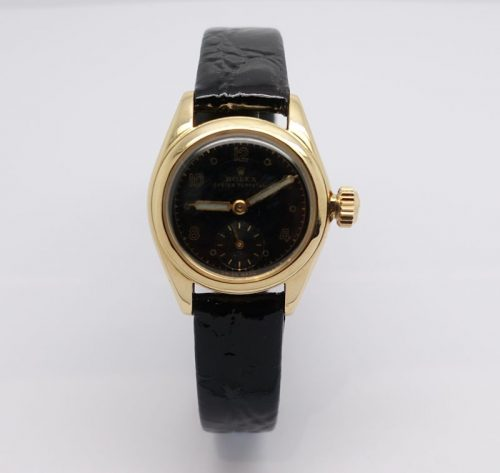 Ladies 9ct gold Rolex Oyster Perpetual Cira 1960s