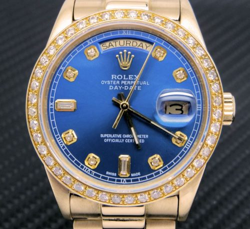 18ct Gold Rolex Day-date