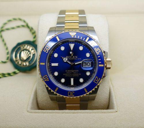 2015 Bi-Metal Rolex Submariner Blue Kit