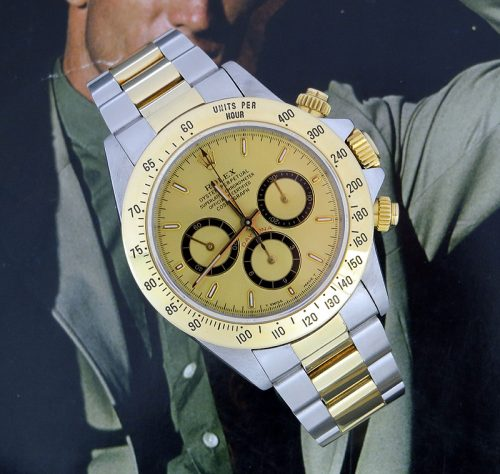 Steel & gold Rolex Cosmograph Daytona investment piece