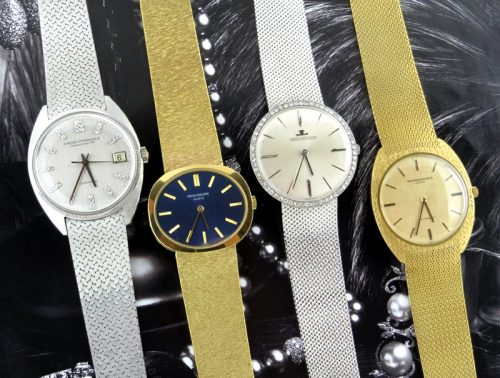 Investment parcel of four important 18ct gold watches