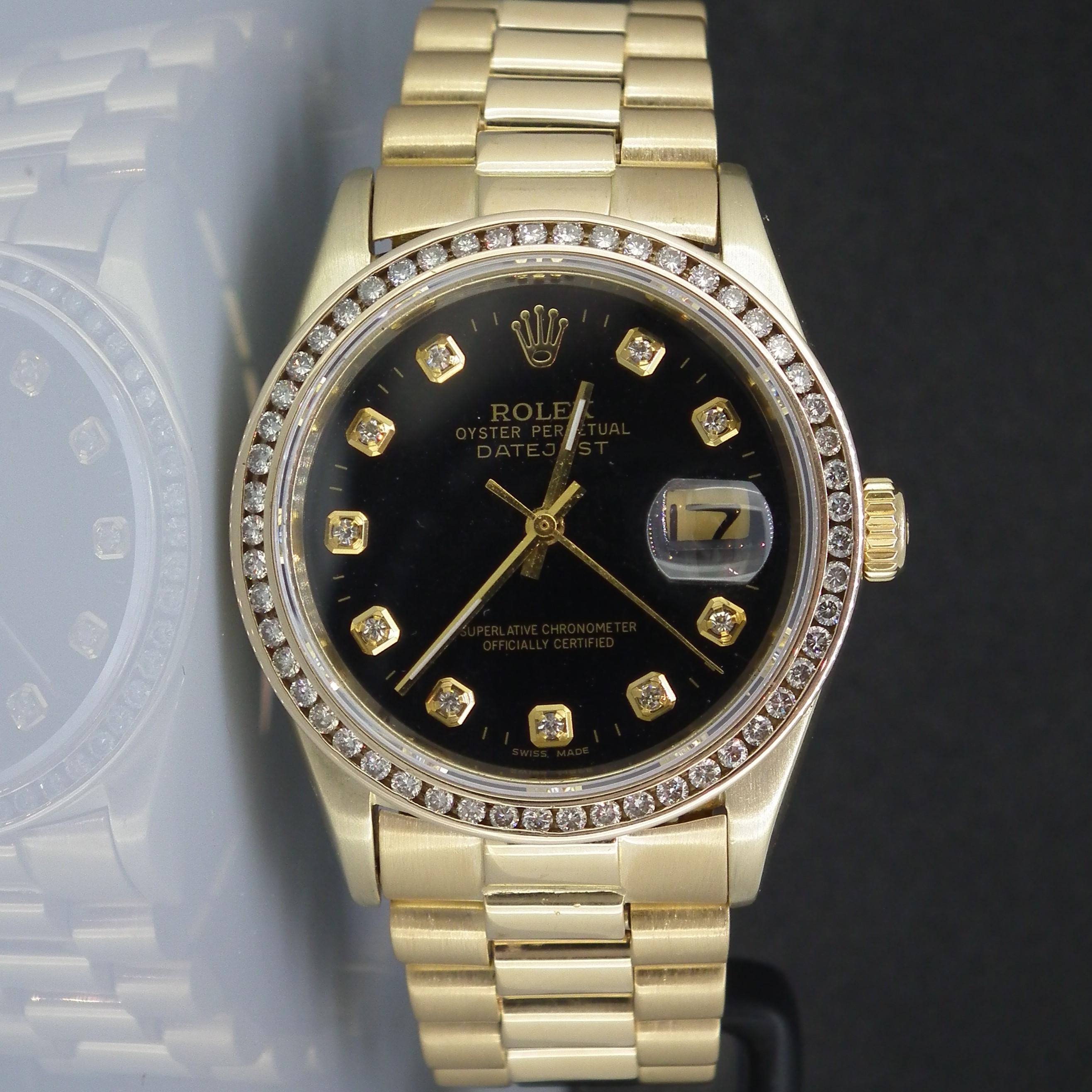 Details about Rolex Datejust 16018 PRESIDENT Bracelet (1989)