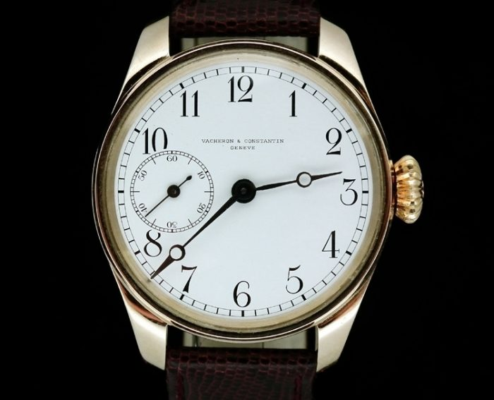 14ct antique Vacheron & Constantin marriage watch c1907