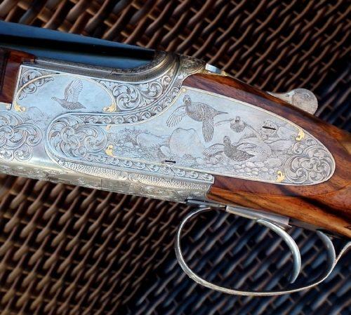 Unique custom .410 Belgian Browning Shotgun