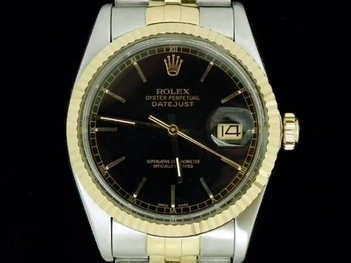 18ct Gold & Steel Rolex Oyster Perpetual Datejust