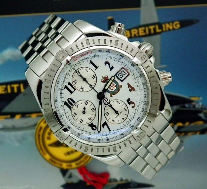 01/40 Breitling Red Arrows Chronomat UNWORN investment