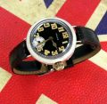 Mint 1915 Silver Hallmarked Rolex Officers trench watch