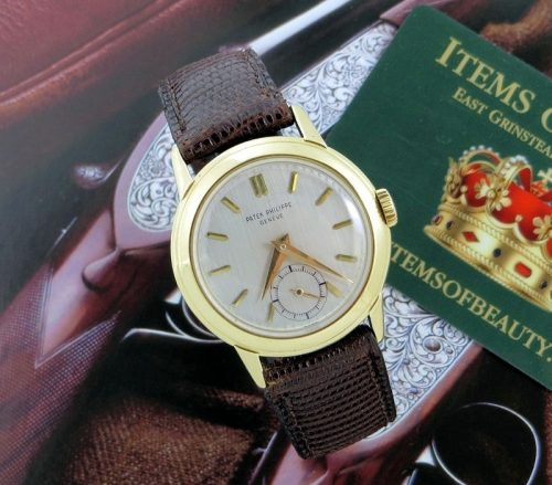 Rare 1954 vintage Patek Philippe investment watch