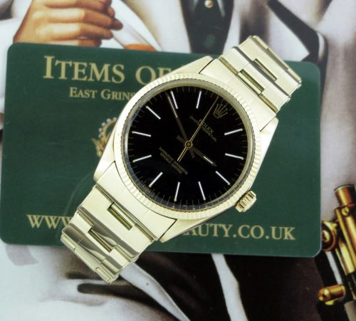 1972 vintage 14ct gold Rolex Oyster Perpetual