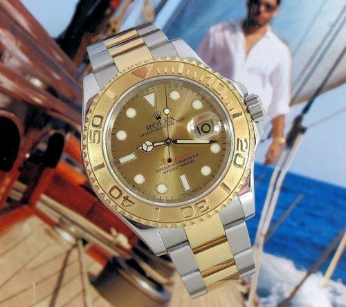 Superb 2006 Bi-Metal Rolex Yachtmaster 16623
