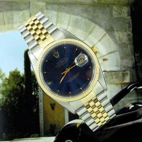 Beautiful gents bi-metal Rolex Datejust ref 16233