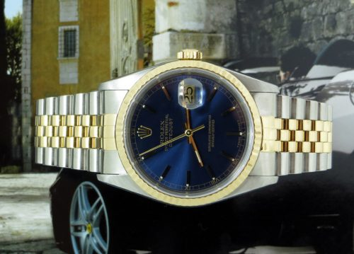 Beautiful gents bi-metal Rolex Datejust ref 16233