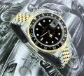 Steel & Gold Rolex GMT Master II Rolex ref 16713