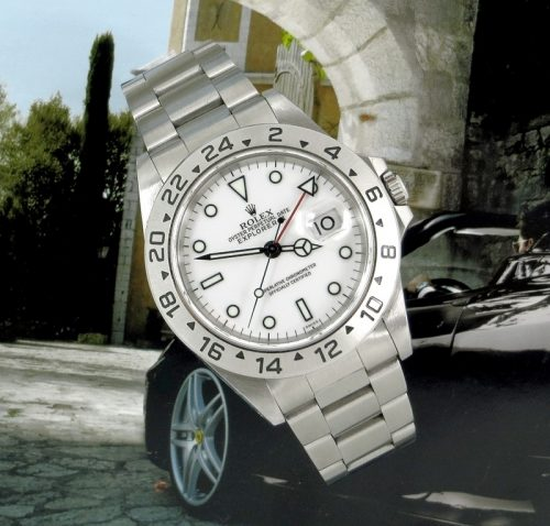 Superb Stainless Steel Rolex Explorer with Rolex paper
