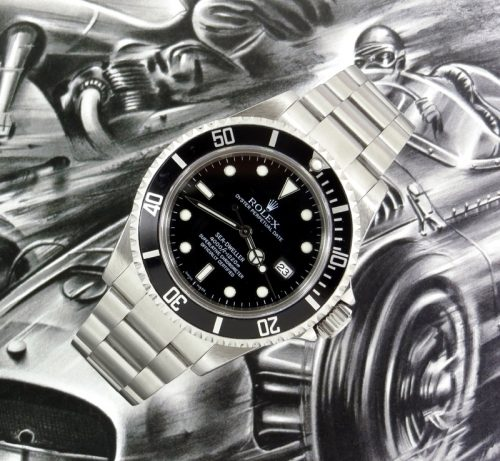 Sought after Steel Rolex Sea Dweller ref 16600T