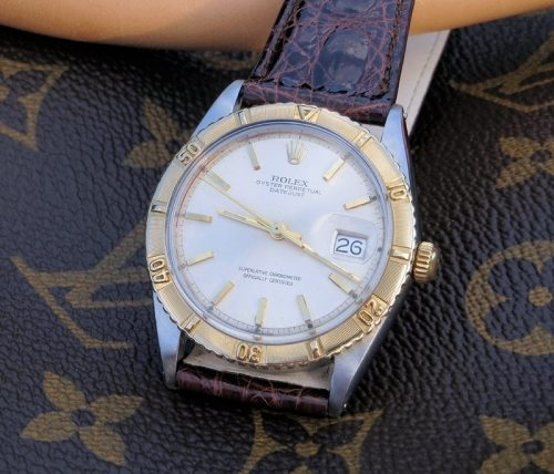 Rare minty 1962 Bi-Metal Rolex Datejust Turn-O-Graph