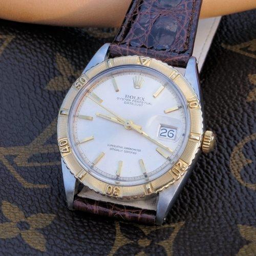 Rare minty 1962 Bi-Metal Rolex Datejust Turn-O-Graph