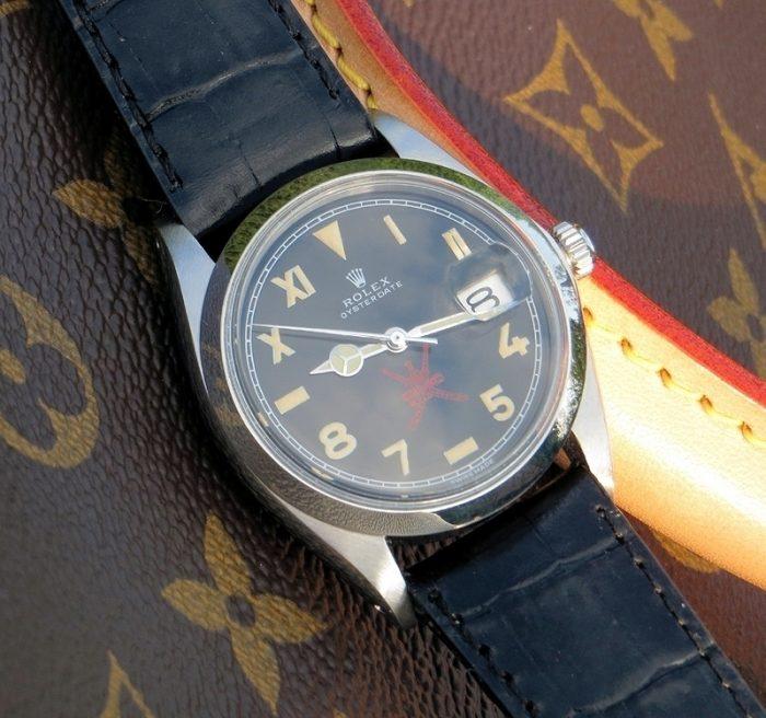 Oman dial restored 1968 Rolex Precision Oysterdate