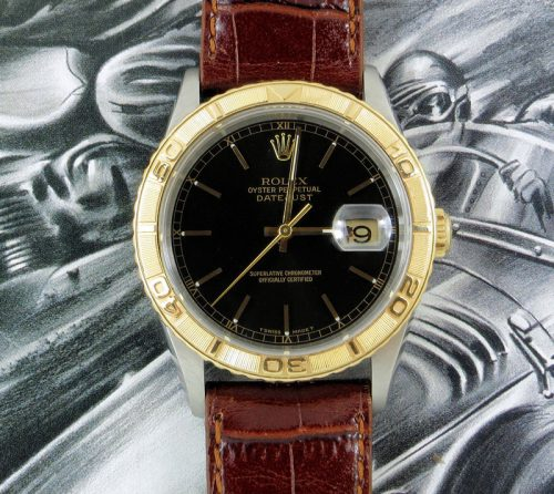 Steel & Gold Rolex Datejust Turn-O-Graph ref 16263