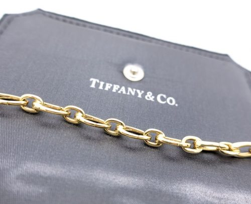 18ct Gold Full Clasping Tiffany chains