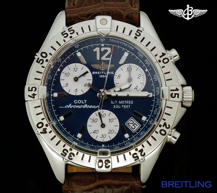 e6f7957945a Breitling Colt Chrono Ocean Quartz ref A53035 - ITEMS OF BEAUTY