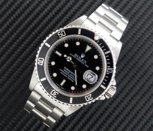 Rolex Submariner ref 16610 with Rolex paper