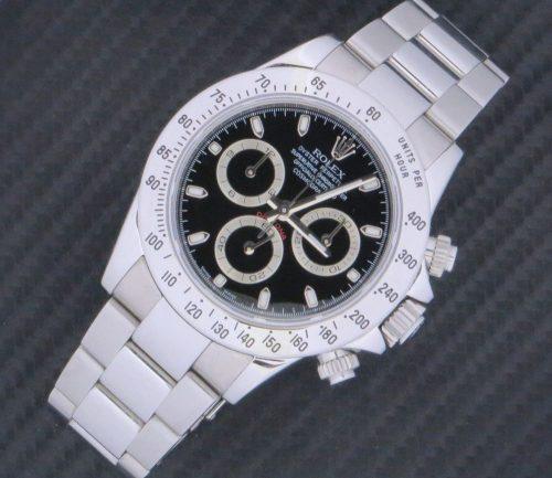 Mint stainless steel Rolex Cosmograph Daytona