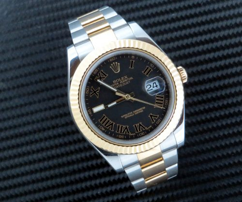 Steel & Gold Rolex Datejust II ref 116333